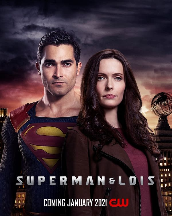 Superman & Lois premieres January 2021, courtesy of The CW.