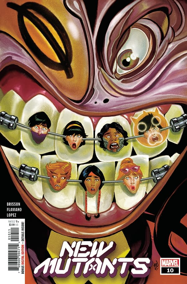 The cover to New Mutants #10
