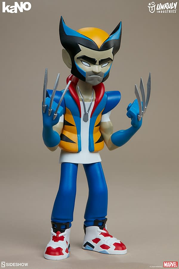 Marvel Designer Collectible Figures from Unruly Industries Wolverine