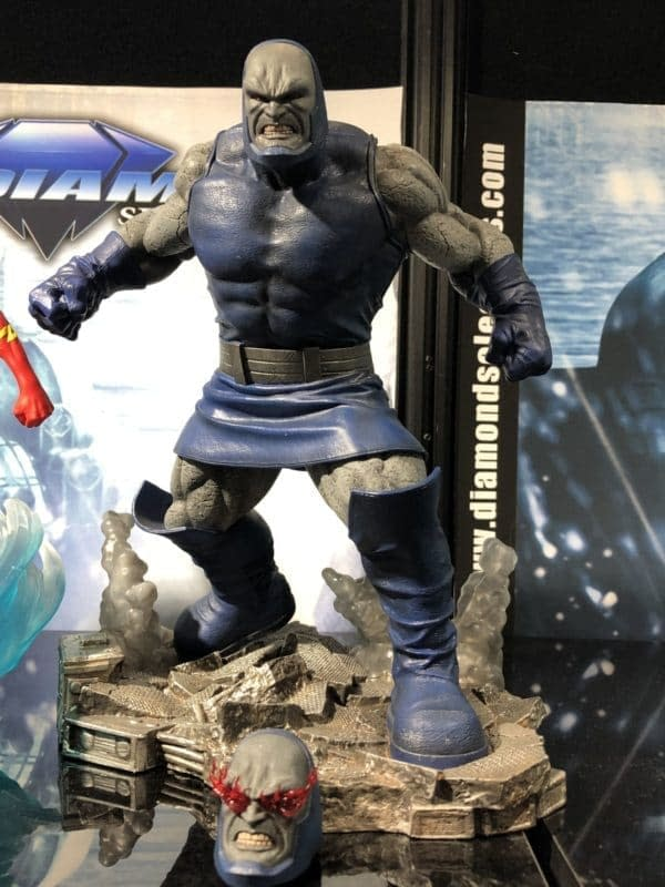 Toy Fair DST Darkseid Gallery Statue