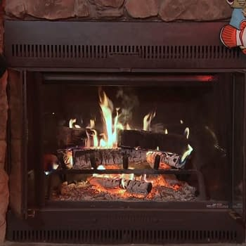 Disney Yule Log