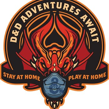 D&D Stay at Home Play at Home Logo