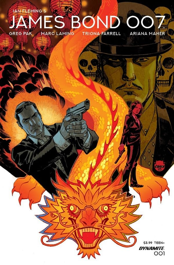 Grek Pak and Marc Laming Launch James Bond 007 Ongoing Comic