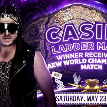 Joey Janela replaces Rey Fenix in the Casino Ladder Match at AEW Double or Nothing