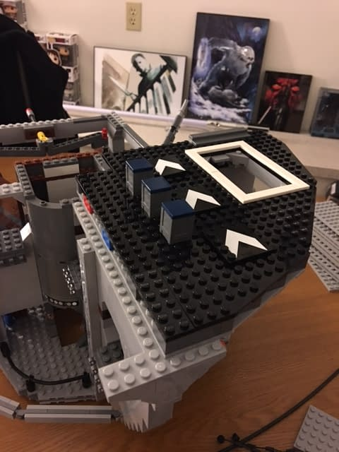 Building The LEGO Death Star Part 2- Lots And Lots Of Grey As The Shell Takes Shape