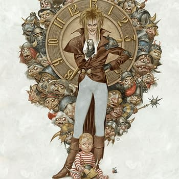 Mondo will have a new Labyrinth poster available on The Drop tomorrow.