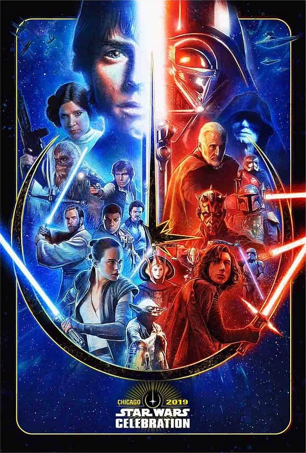 Star Wars Celebration 2019 Chicago Poster Revealed, Guest Announcements Too!