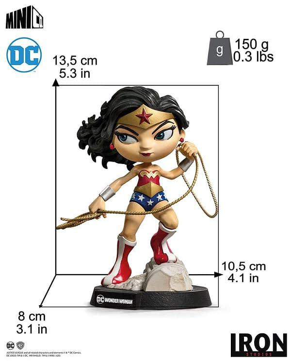 DC Comics Wonder Woman Minico Statue by Iron Studios