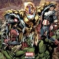 Marvel Brings Back The Gold Foil Cover For Age Of Ultron #1