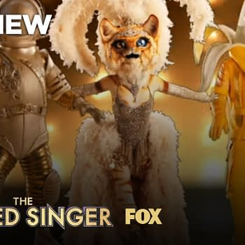 The Masked Singer season 3 finalists take a break for a sing-along, courtesy of FOX.