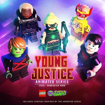 LEGO DC Super-Villains Receives The Young Justice Pack Today