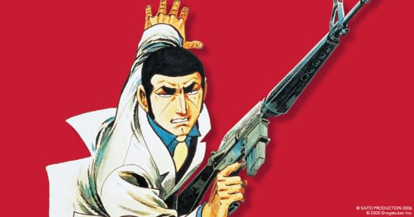 Golgo 13 cover art from Viz Media