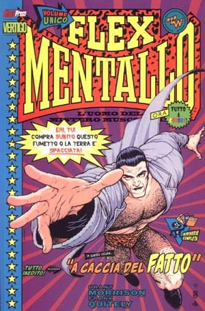 Flex Mentallo: The Trade Paperback by Grant Morrison and Frank Quitely