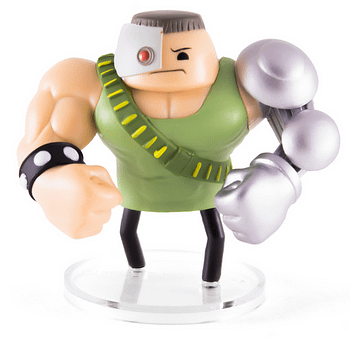 Ultra Soldier SDCC Cyanide and Happiness Figures
