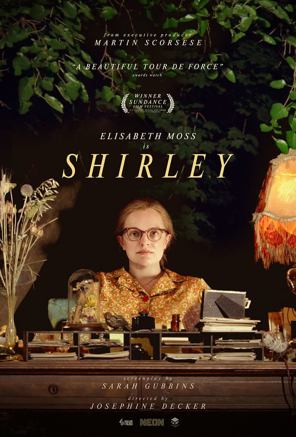 Shirley arrive sur les services de streaming le 5 juin. Crédit NEON