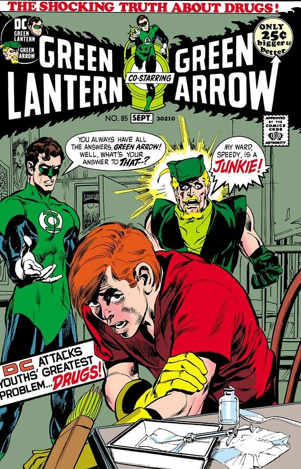 Relive Roy Harper's Smack Addiction in Green Lantern #85 Facsimile Edition
