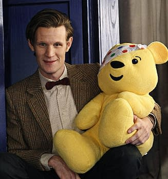 The Doctor Is Offering You The Shirt Off His Back For Children In Need