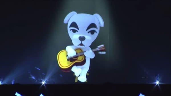 """Animal Crossing's"" K.K. Slider Appears During ""Splatoon 2"" Concert"