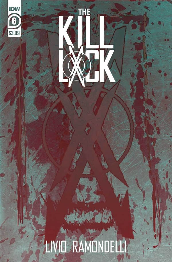 The cover of Kill Lock #6. Credit: IDW