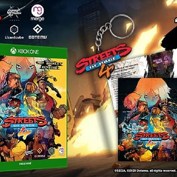 Streets Of Rage 4 Signature Edition