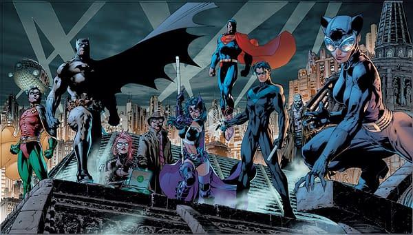 Batman Hush Jim Lee Art