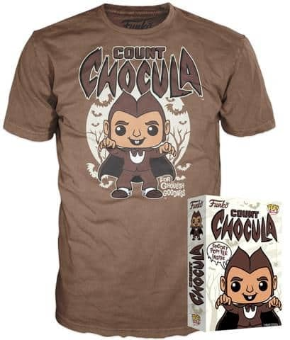 Funko Cereal Tee Count Chocula