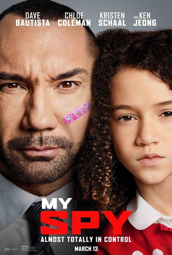 Dave Bautista Comedy My Spy débute sur Amazon Prime Video le 26 juin