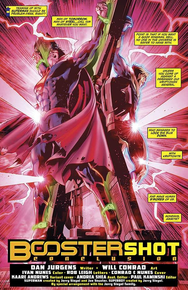 Superman: Action Comics #998 art by Will Conrad and Ivan Nunes