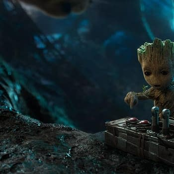 Groot Zoom Background from Marvel Comics.