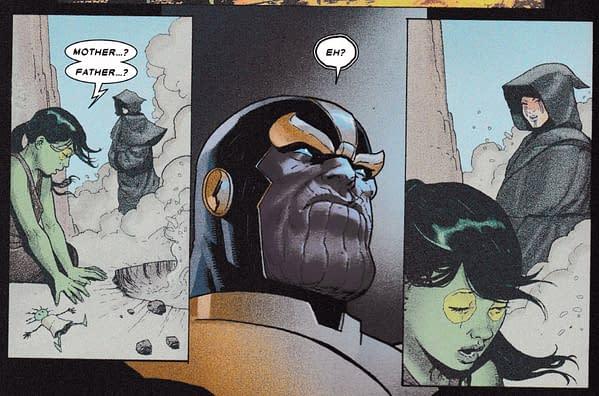Gamora Gets A Brand New Origin in Thanos #1 (Spoilers)