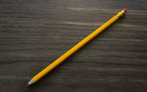 A slightly used pencil available EX-X-XCLUSIVELY in the first BC Made box.