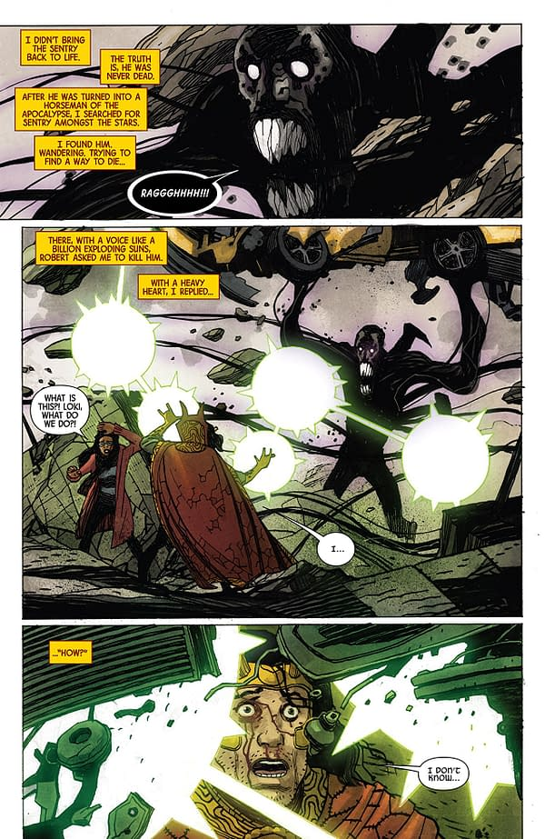 Doctor Strange #385 art by Gabriel Hernandez Walta and Jordie Bellaire