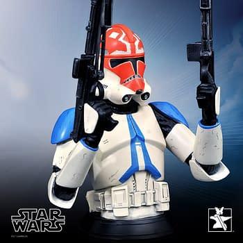 Star Wars Ahsoka 332nd Clone Trooper Bust Statue from Gentle Giant
