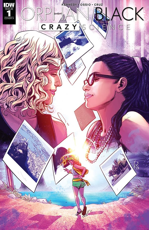 Orphan Black: Crazy Science #1 cover by Fico Ossio