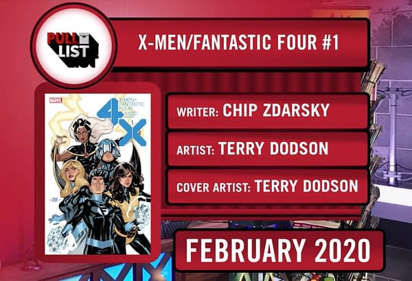 Marvel Comics Announces (Again) X-Men/Fantastic Four by Chip Zdarsky and Terry Dodson