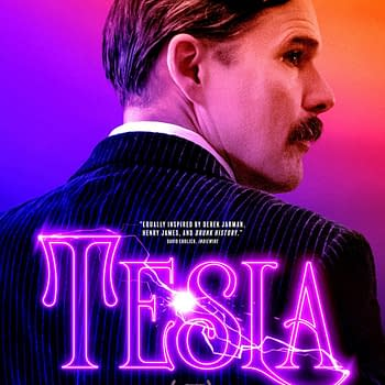 New Poster For Tesla Debuts Ahead Of Release On August 21st