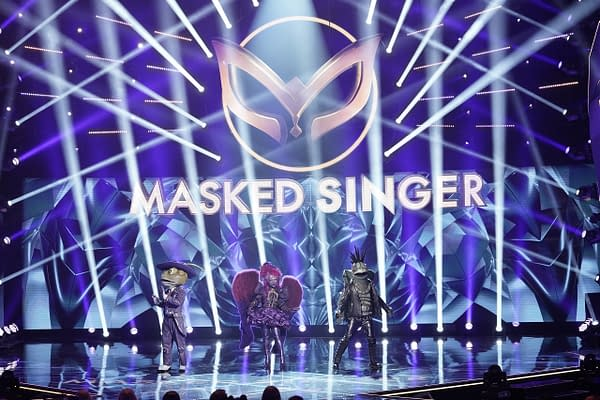 The Masked Singer: Night Angel, Turtle, and Frog: FOX
