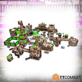 Corvus Belli and TT Combat Announce Partnership for Infinity Terrain