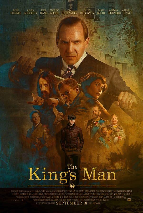 Nouvelle affiche et bande-annonce pour le Kingsman Prequel The King's Man