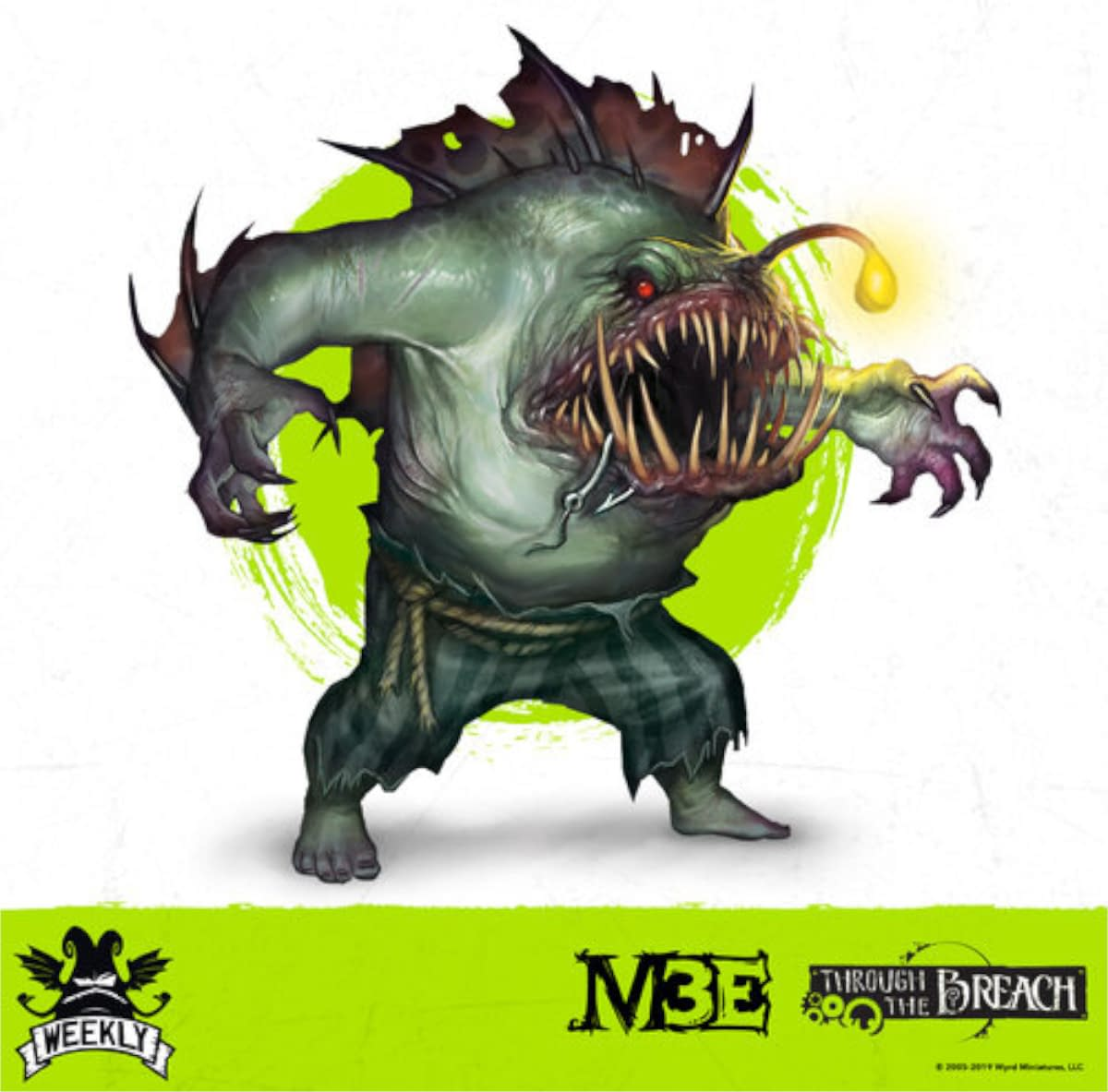 """Malifaux gets a new """"Salty Seadevil"""" from Wyrd Games"""