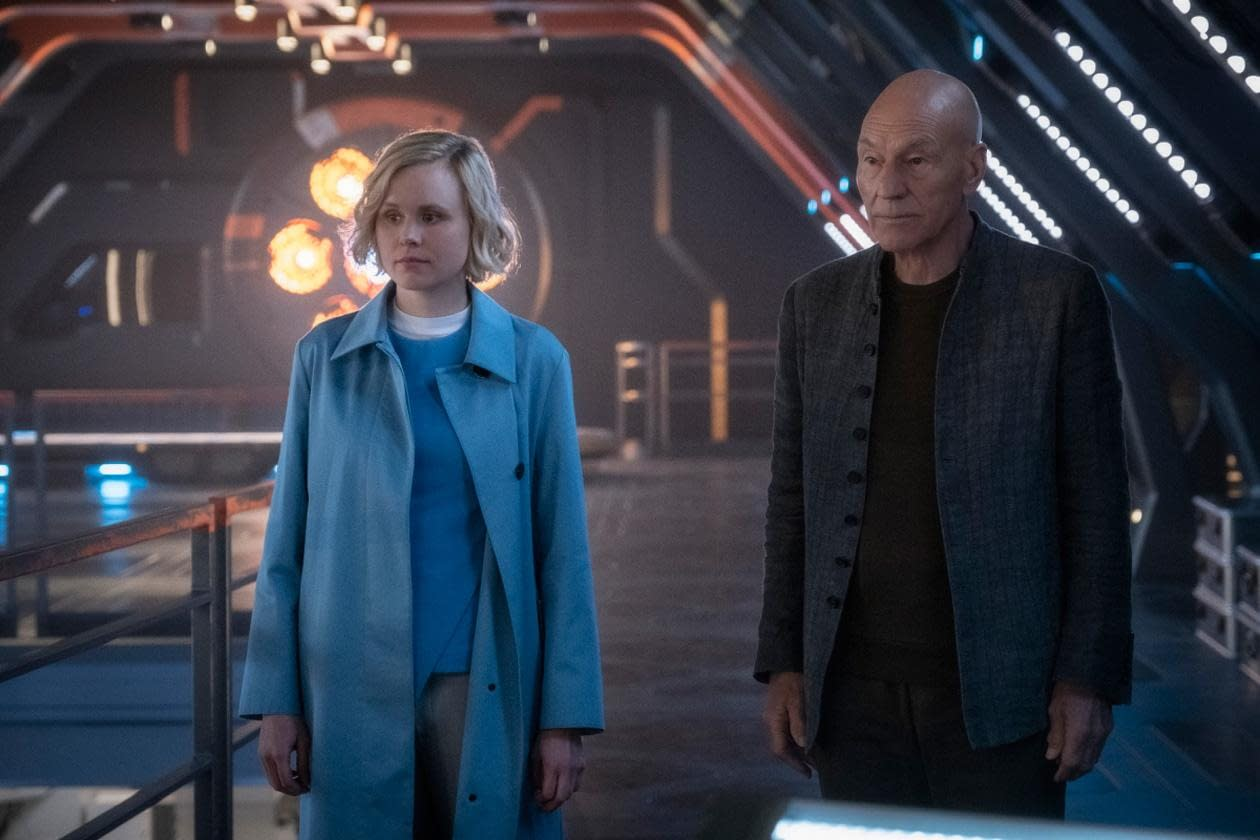 """""""Star Trek: Picard"""" Episode 1 """"Remembrance"""": A Bike Ride You Never Want to Forget [REVIEW]"""
