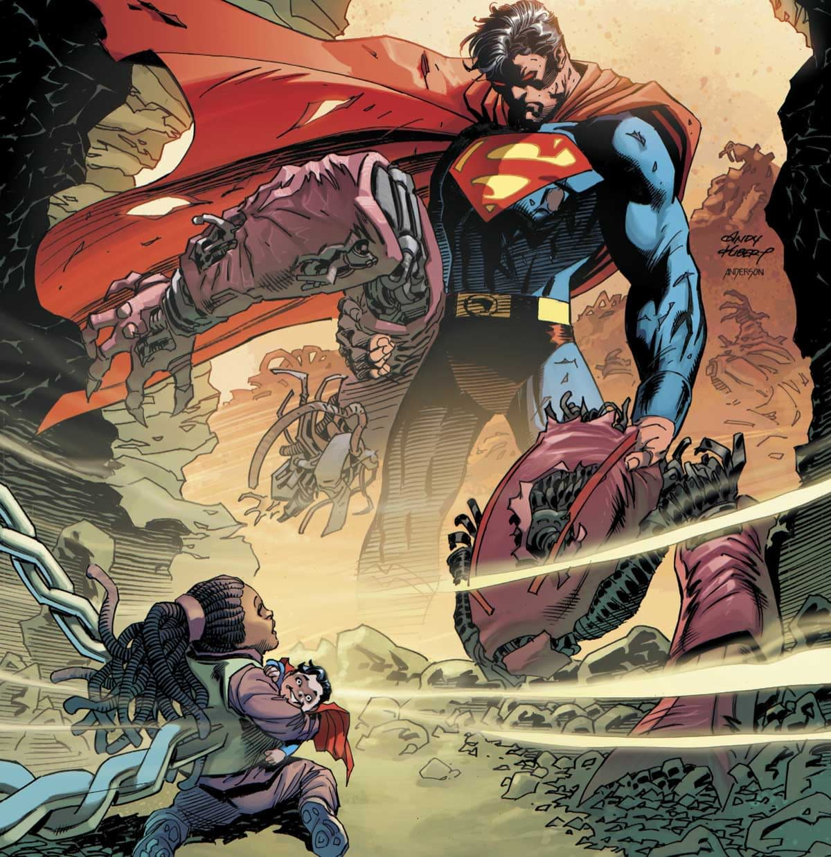 REVIEW: Superman Up In The Sky #6