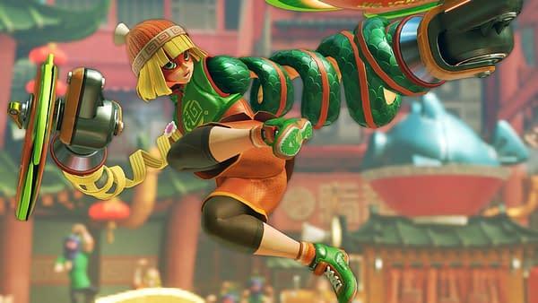 Min Min joins the battle! Courtesy of Nintendo.