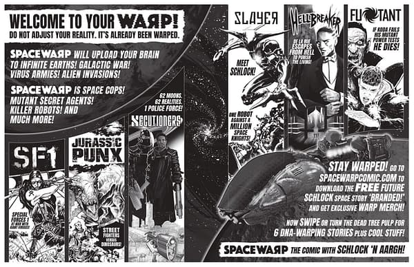 Pat Mills Creates a 2000AD For 2020, with Spacewarp and Jurassic Punx.