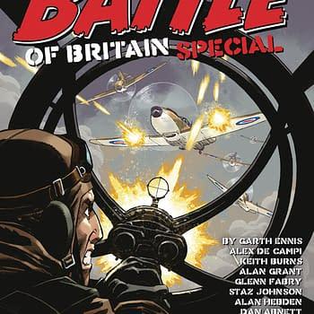 Garth Ennis &#038 Glenn Fabrys Battle Of Britain in Rebellion Solicits
