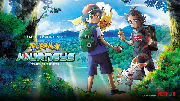 Ash et Pikachu poursuivent leurs aventures dans Pokemon Journeys: The Series, gracieuseté de Netflix.
