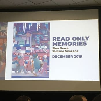 Sina Grace and Stefano Simeone Launch Read Only Memories Comic From IDW in December &#8211 No Need To Wait Until 2064