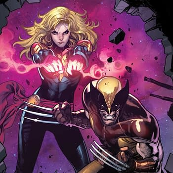 Carol Danvers to Lose Shirt in Poker Game with Wolverine in April's Captain Marvel #17
