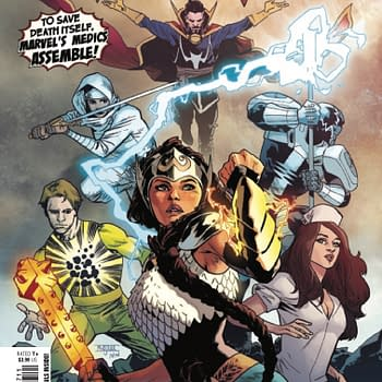 In this Preview of Valkyrie #7 Marvels Medics Must Save Marvel Itself