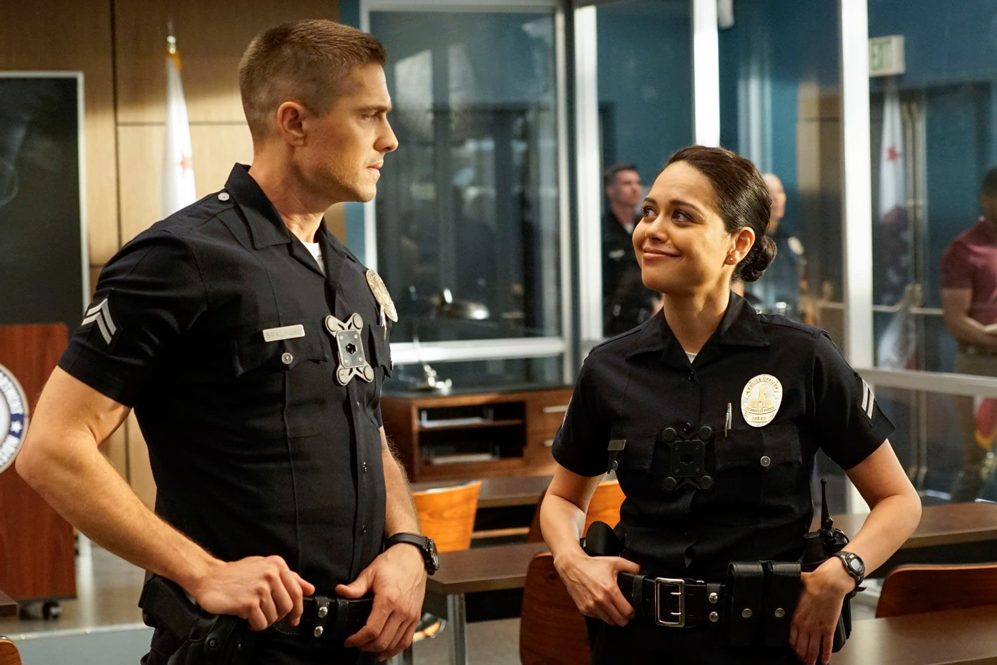 """THE ROOKIE - """"Warriors and Guardians"""" - ABC/Kelsey McNeal"""